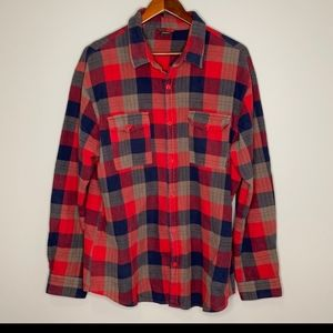 Nike Flannel Button UP Rare